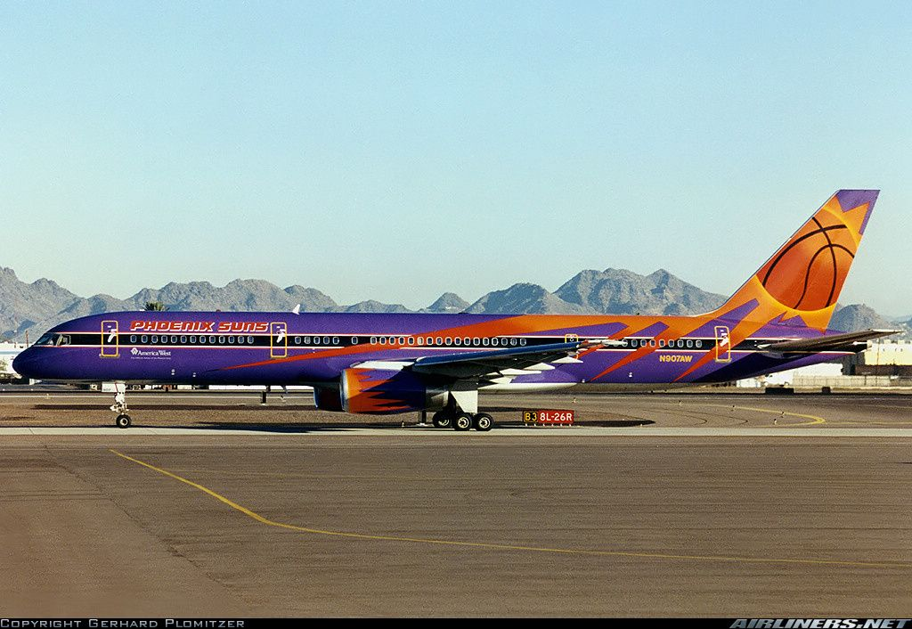 Boeing 757225 (Sn 22691) (N907AW) America West Airlines