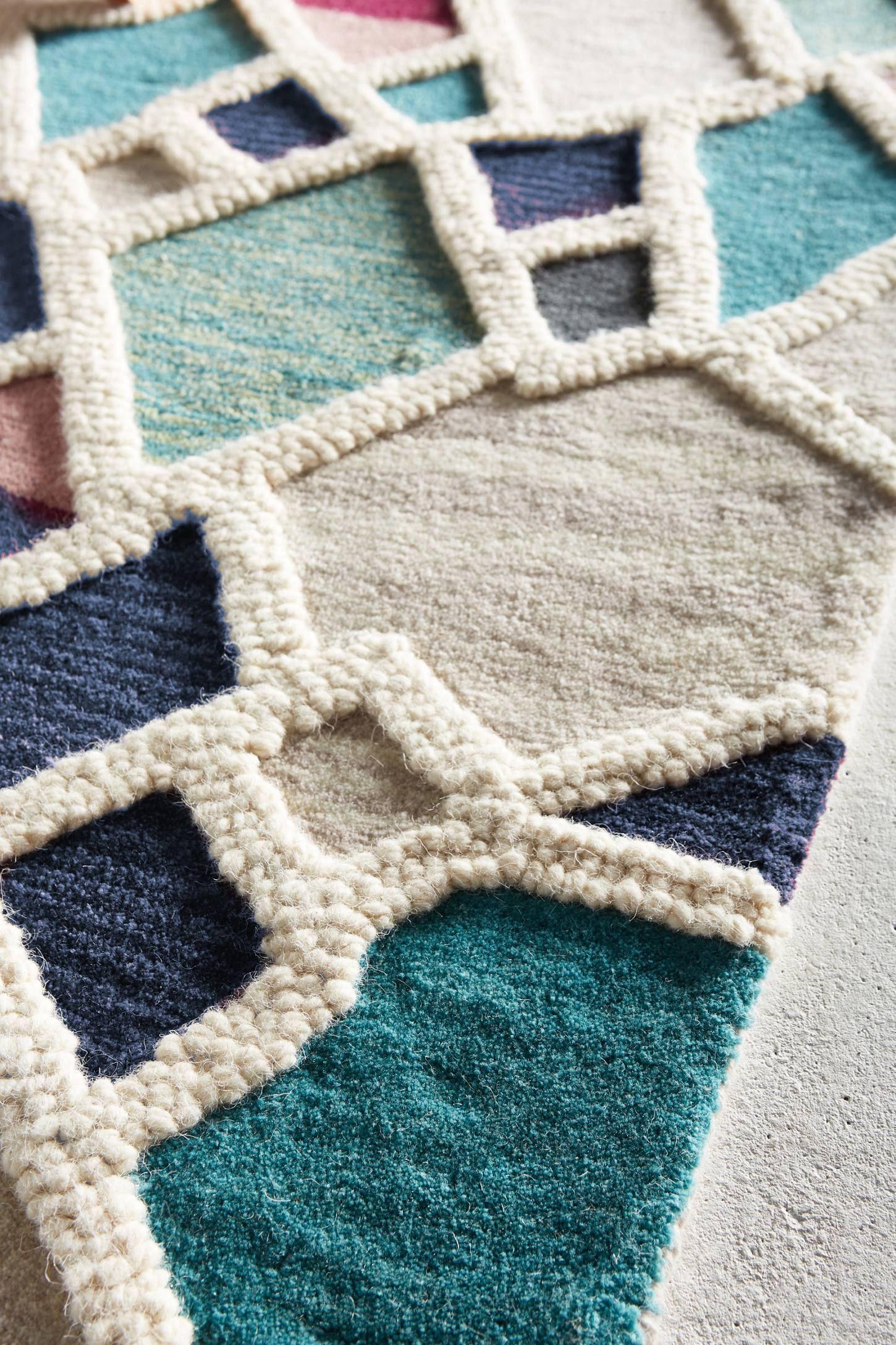 Tufted Geode Rug Diy Carpet