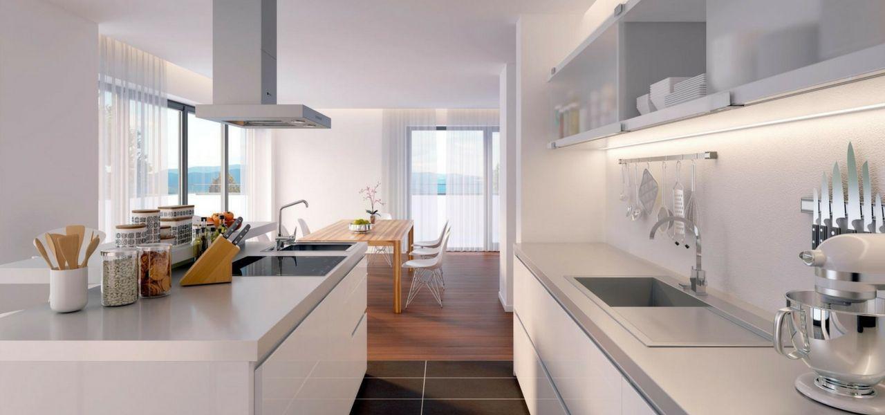 Las cocinas abiertas se han convertido en los ltimos for Diseno de interiores en los anos 90