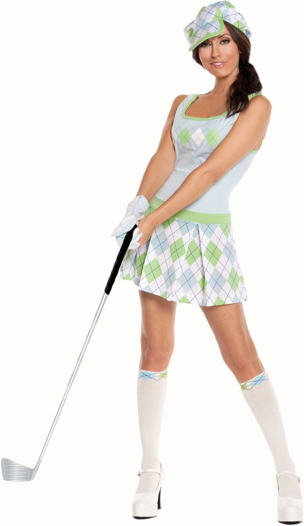 Golfing Costumes for Women. Are you thinking about dressing up in a golf costume for Halloween ...
