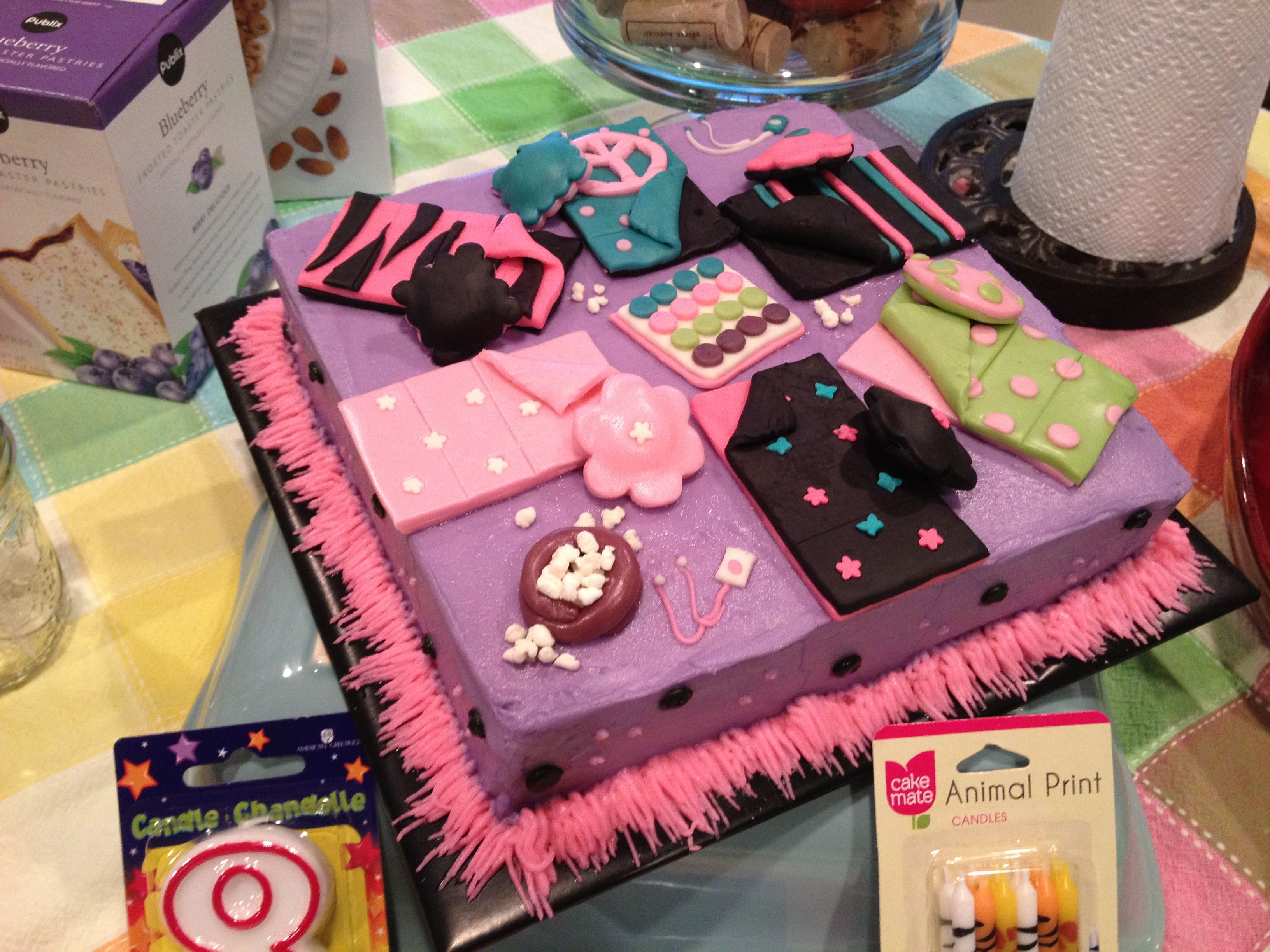 Slumber Party Cake Childrens Birthday Cakes Birthday cake ideas