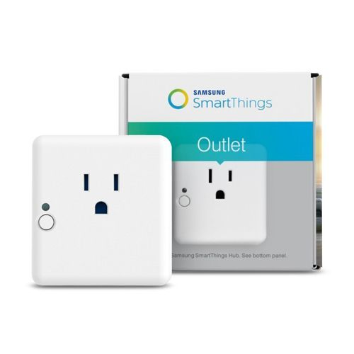 Samsung SmartThings Hub and Outlet Bundle Works with