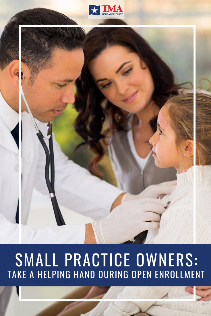 Small Practice Owners Take A Helping Hand During Open Enrollment