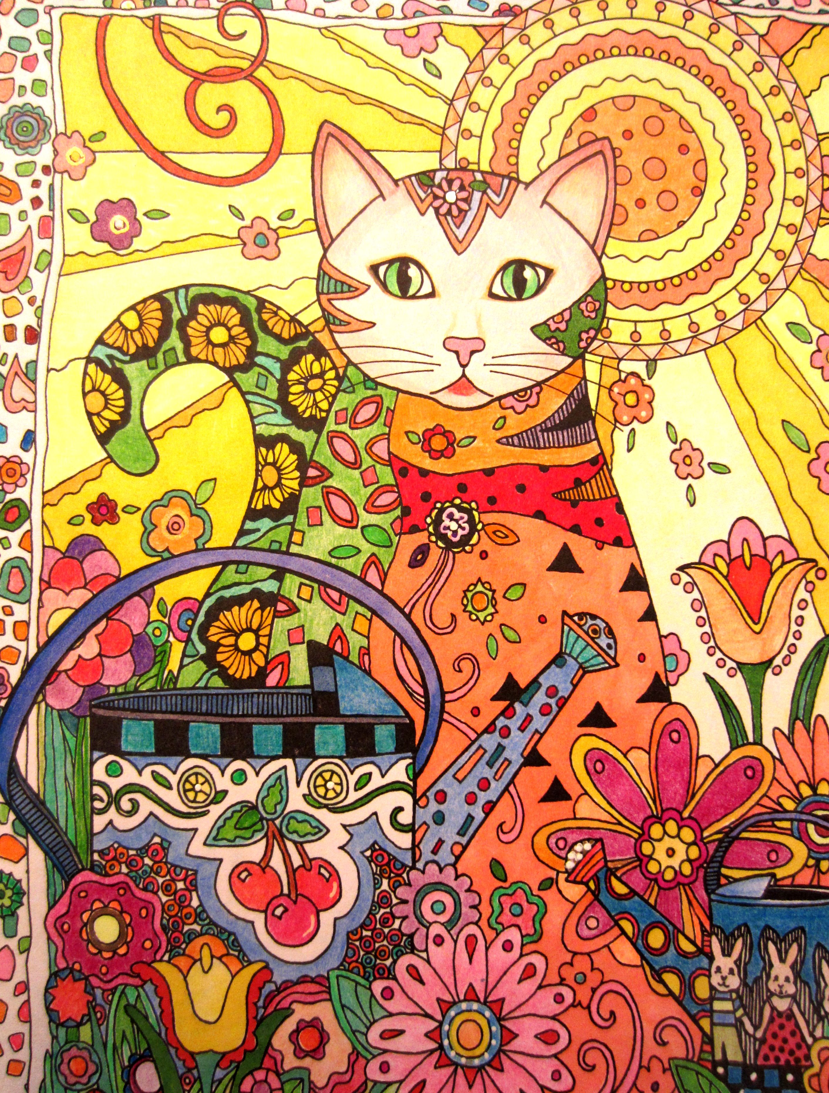 Creative cats coloring book for adults coloring books for