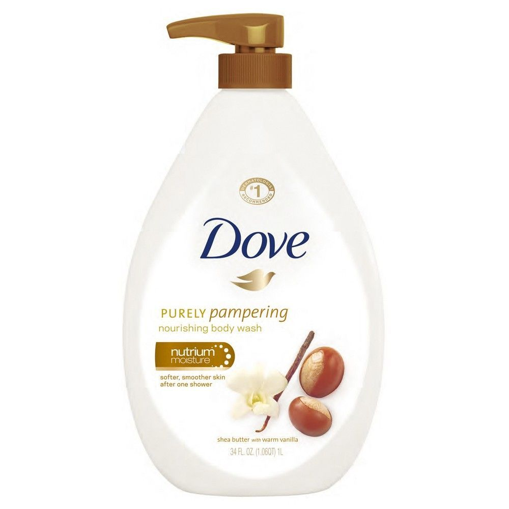 Dove Purely Pampering Shea Butter With Warm Vanilla Body Wash 34 Fl Oz Vanilla Body Wash Body Wash Dove Body Wash