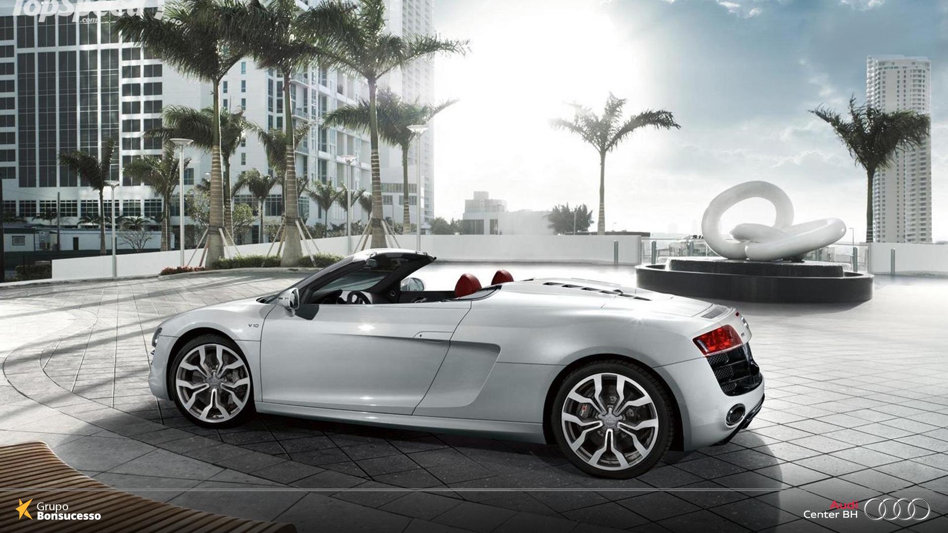 O que já era sensacional, agora tem uma versão ainda mais arrojada. Conheça o Audi R8 Spyder eprepare-se para a liberdade.  #Audi #AudiLovers #Love #AudiAutomóvel #AudiCenterBH #AudiR8Spyder #R8 #Spyder #R8Spyder