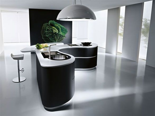 Modern dune kitchen range from italian maker pedini cool kitchen artwork