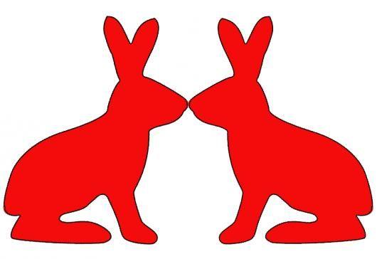 tinker bunny garland instructions easter pinterest. Black Bedroom Furniture Sets. Home Design Ideas