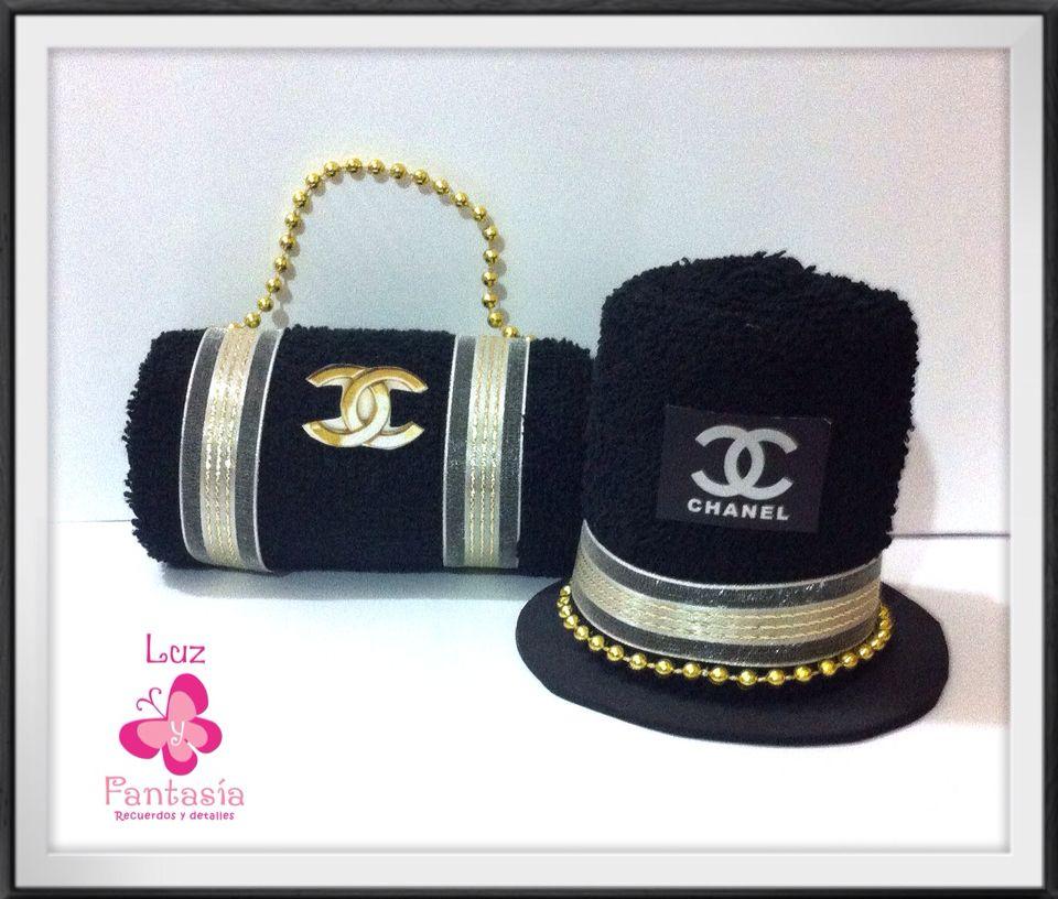 Ideales para dar en tu  boda coordinado de bolsa de mano y sombrero de copa  en  toalla facial 4fde2655770