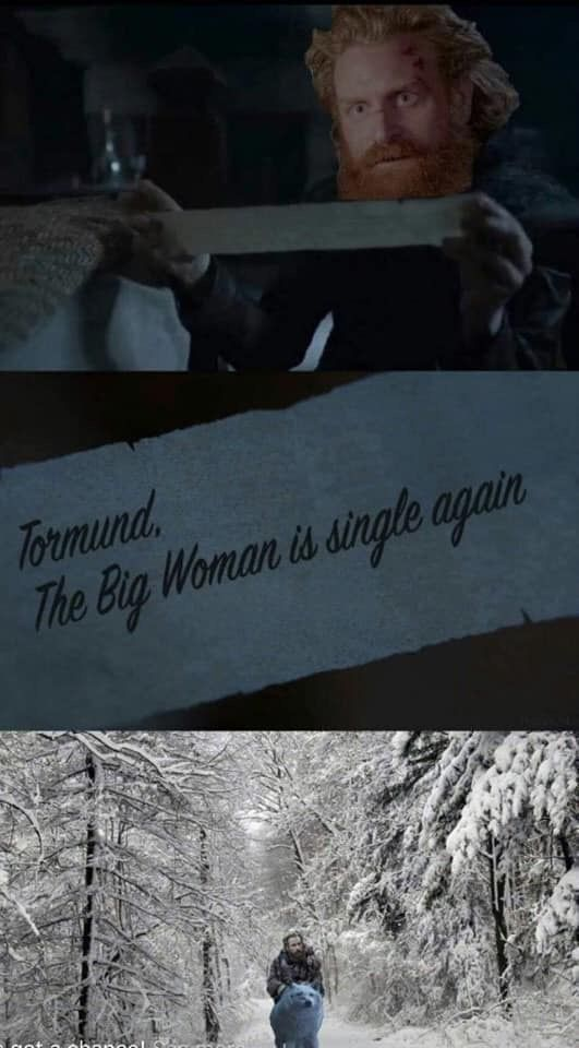 Come back Tormund! Episode 5, Season 8, Game of Thrones. - #Episode #Game #Season #Thrones #Tormund #gameofthrones