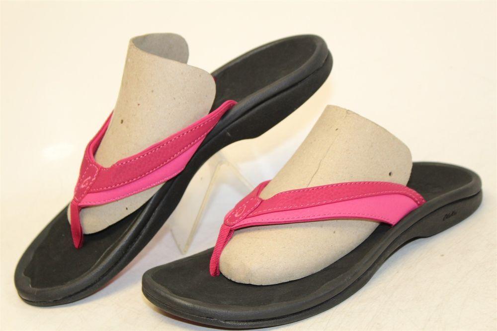 d0fb089c6646 Olukai NEW MISMATCH L 7   R 8 Ohana Womens Rubber Flip Flops Sandals Shoes  rt  fashion  clothing  shoes  accessories  womensshoes  sandals (ebay link)