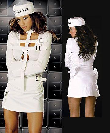 Straight Jacket Dress Costume Womens