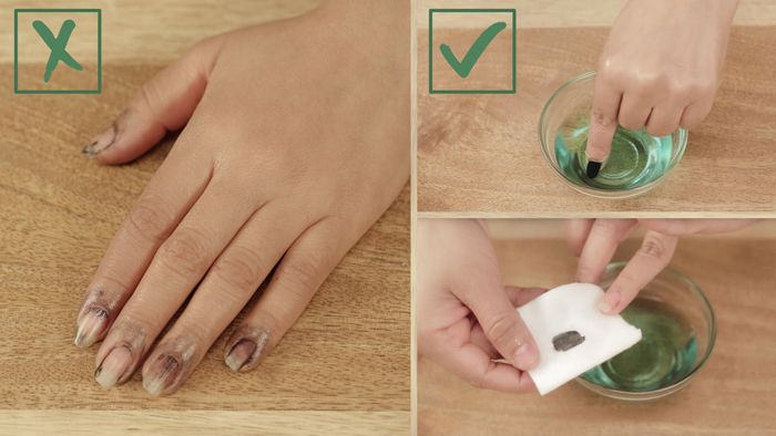Check Out This Amazing Beauty Hack From Blogger Riya Jain That Shows A Smarter Way To Remove Dark Nail Polish