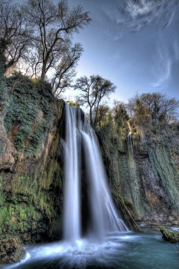 Monasterio De Piedra Zaragoza Spain Beautiful Places To Visit Waterfall Pictures Beautiful Waterfalls