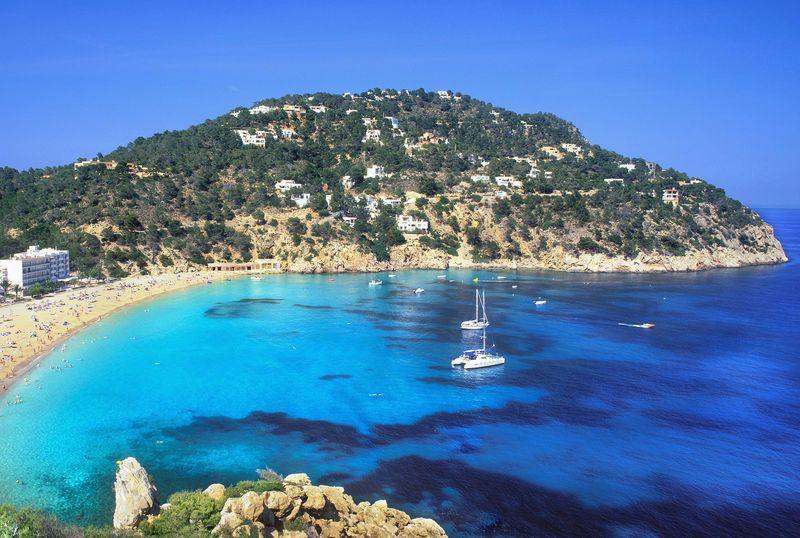 Sa Cala de Sant Vicent     northern bay on the island of