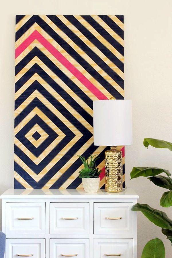 40 Ridiculously Artistic Fabric Wall Art Ideas | Cuadro, Murales y ...