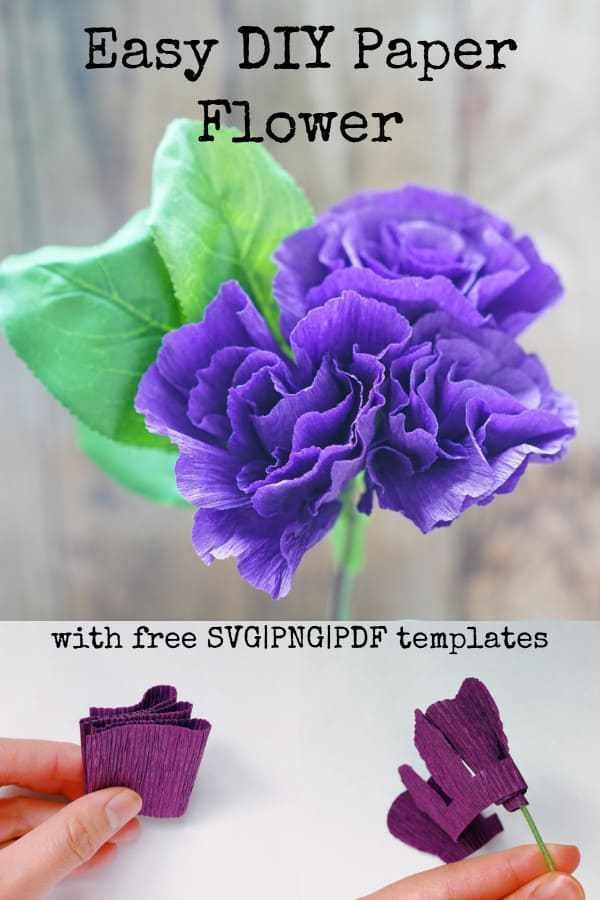 How to Make Crepe Paper Flowers Step by Step - Easy Method - DOMESTIC HEIGHTS