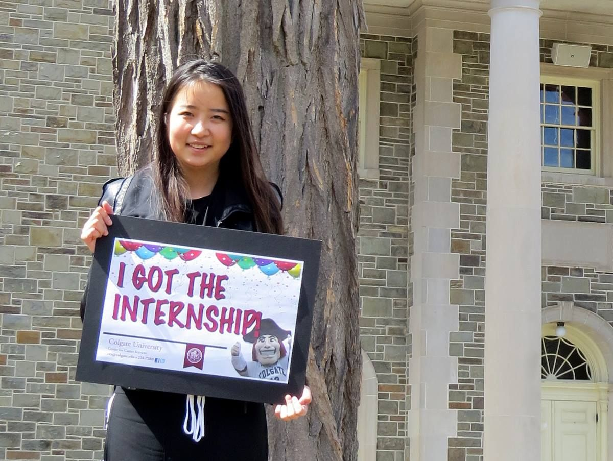 Student Success Shout out Congratulations to Chrissie Chen