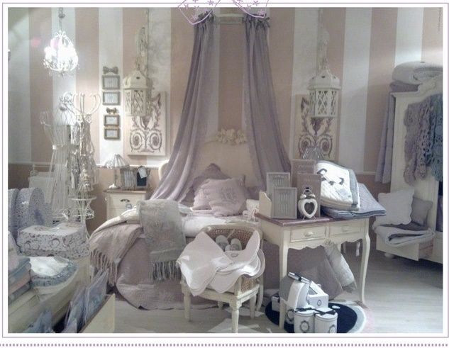 Camere Shabby Chic Foto : Camera shabby chic complementi shabby scic cameras