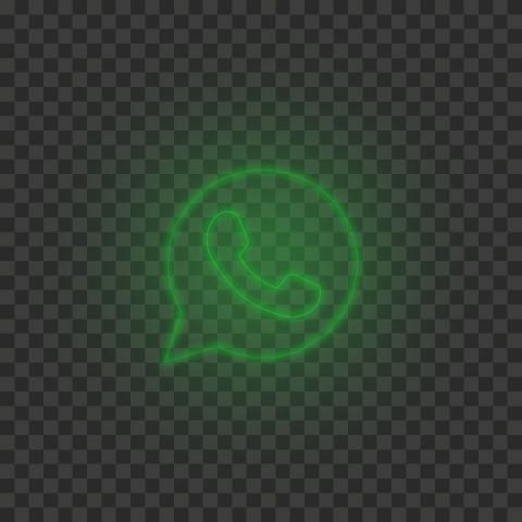 Hd Green Neon Light Whatsapp Art Line Circle Logo Icon Png Circle Logos Logo Icons Icon