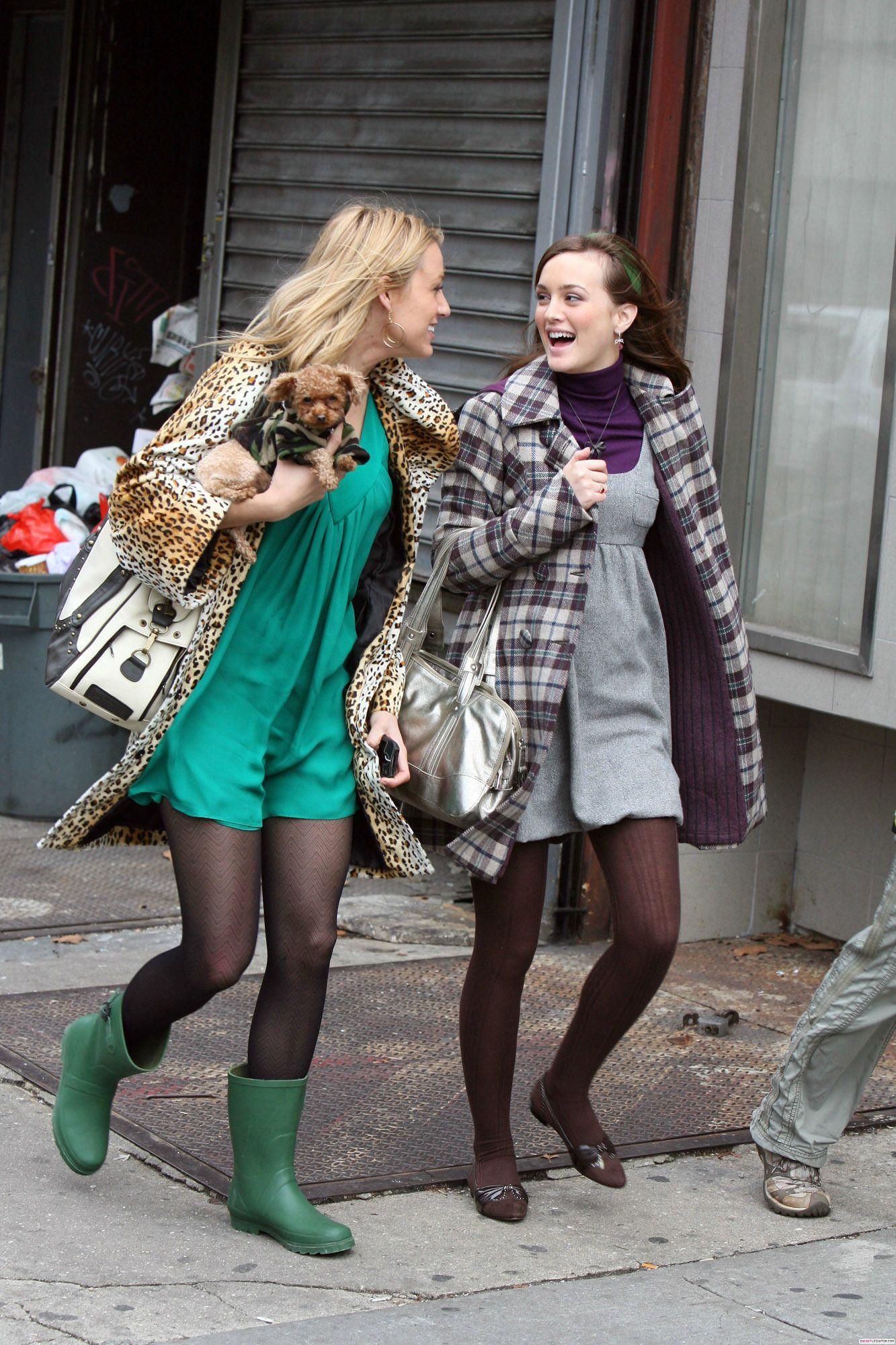 blair waldorf and serena van der woodsen | gossip girl | bff