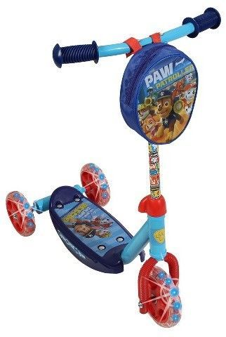 Paw Patrol 3-Wheel Scooter with Lighted Wheels, Kids