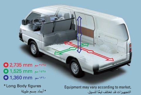 L300 Cargo Dimensions Interior Interior Camper Van Vans