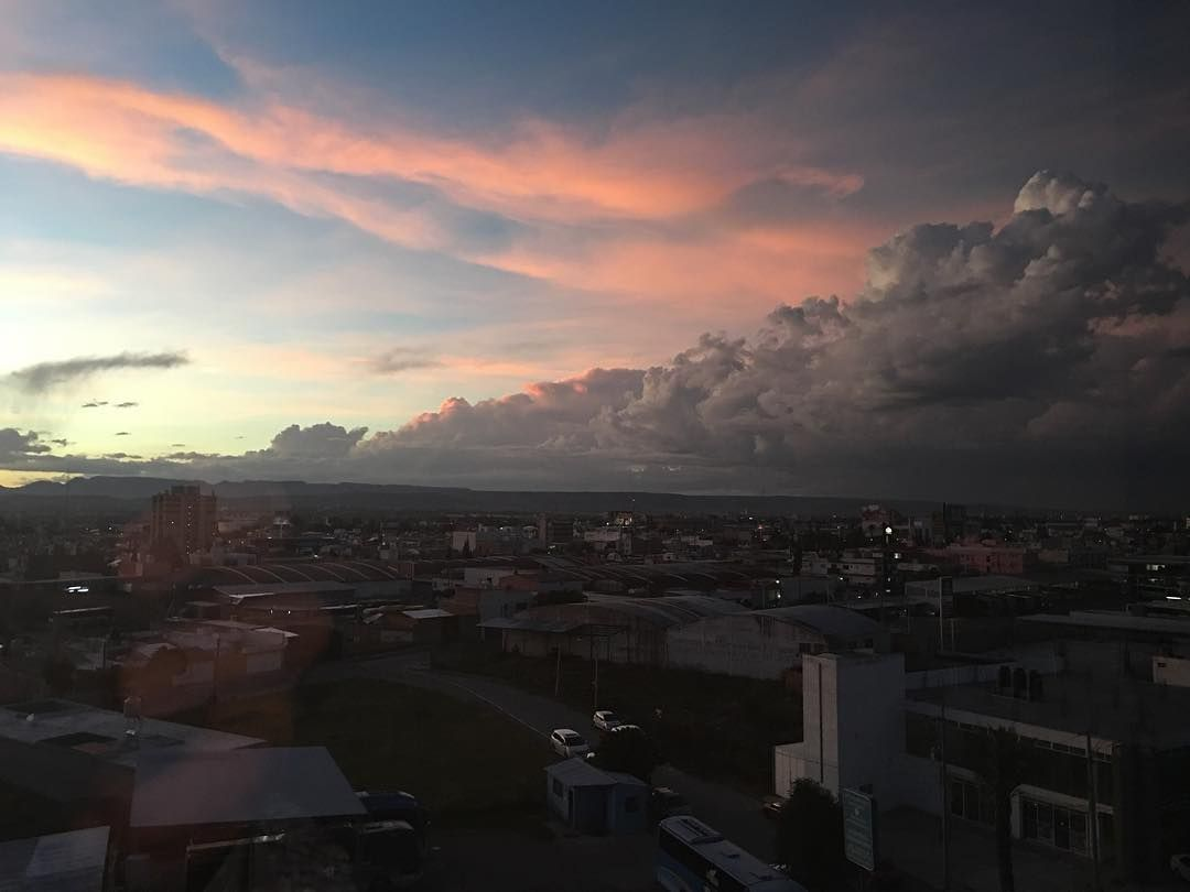 El cielo hidrocálido hoy 4 #sunset #puestadesol #AgsMx #Aguascalientes #México