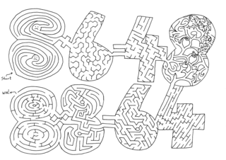 FREE Math Mazes to help kids remember the tricky times