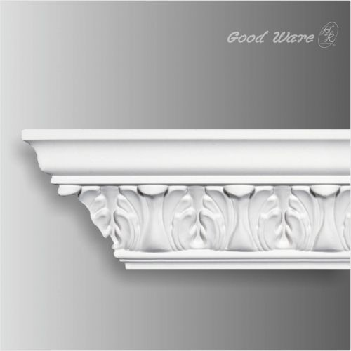 Polyurethane Exterior Decorative Mouldings Foam Crown Molding Door Design Modern Classic House Design