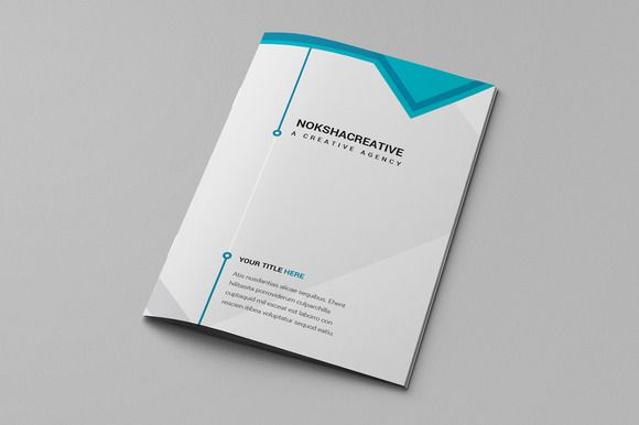 Bi Fold Brochure by CreativeMine Store on Creative Market Cut - free bi fold brochure template word