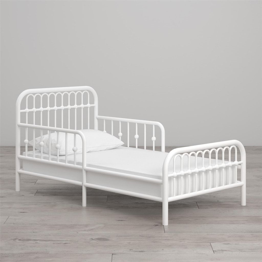 Little Seeds Monarch Hill Ivy Metal Toddler Bed Toddler Bed Bed