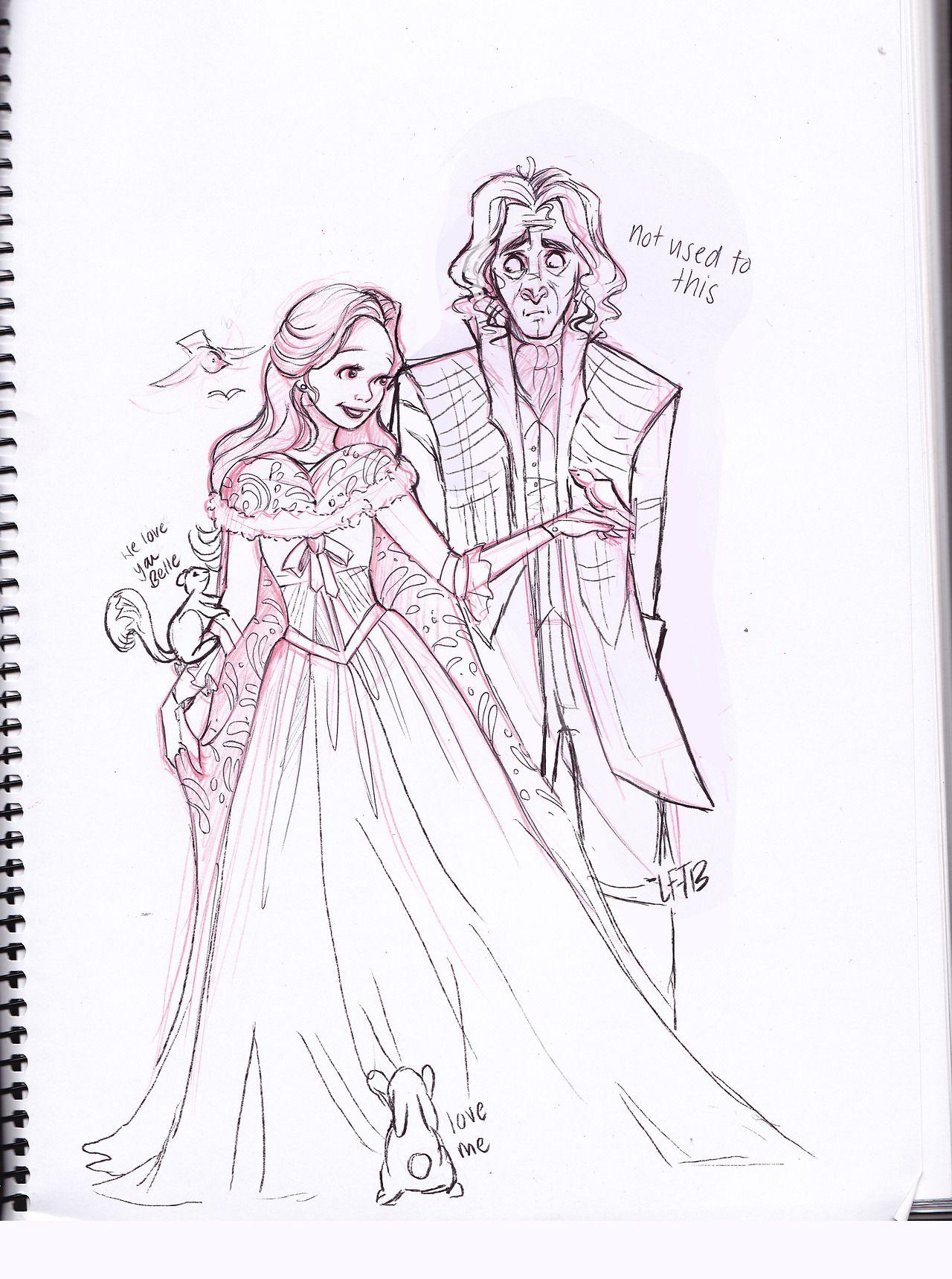 This Is So Cute My Favorite Geeky Art Rumple And Belle Once