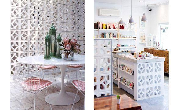 Revista Imóveis» Aprenda a decorar a casa com o cobogó