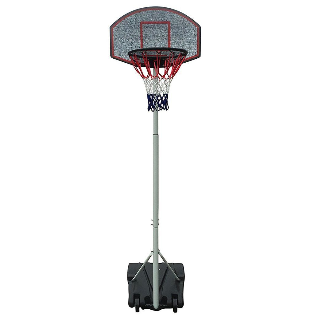 Movement God Height Adjustable Portable Mini Youth Basketball Hoop System  with 28 Inch Backboard. Rim 5a5f0eacdc