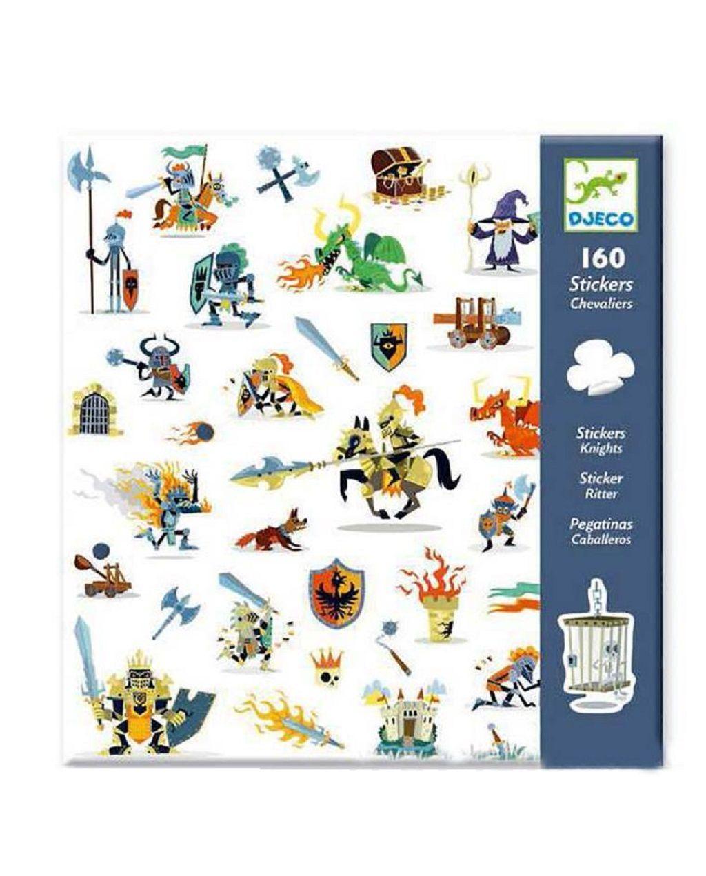 Delightful Stickers For Children Djeco Sticker Set