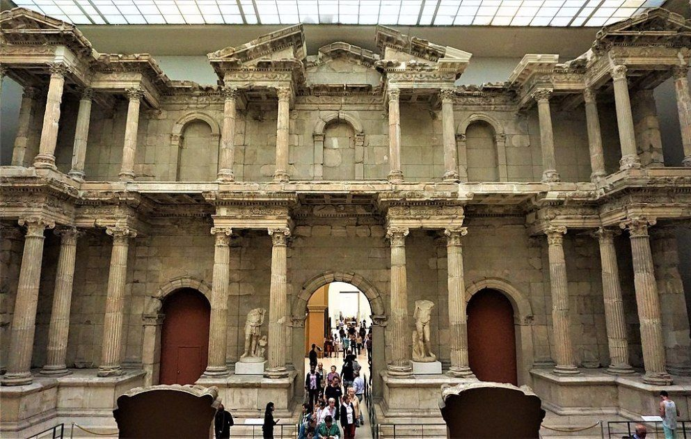 The Market Gate Of Miletus Joy Of Museums Pergamon Museum Ancient Greek City Museum