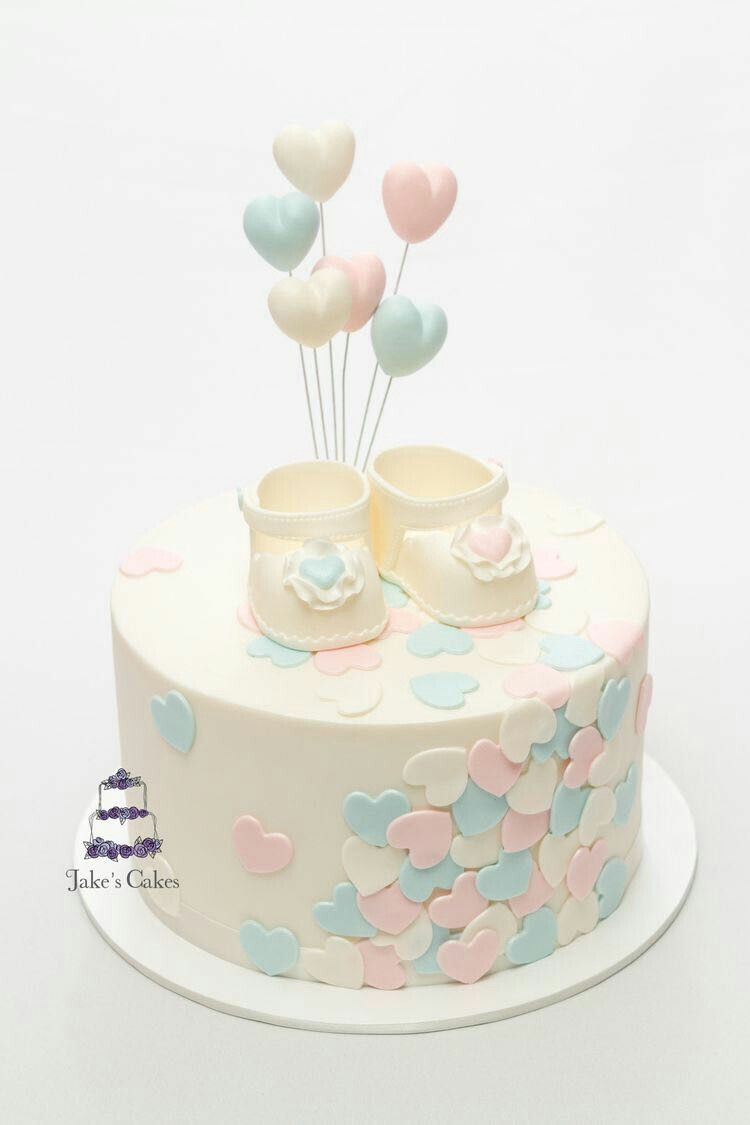 Pin By Omnia Mahmoud On Baby Girl Shower Cakes With Images