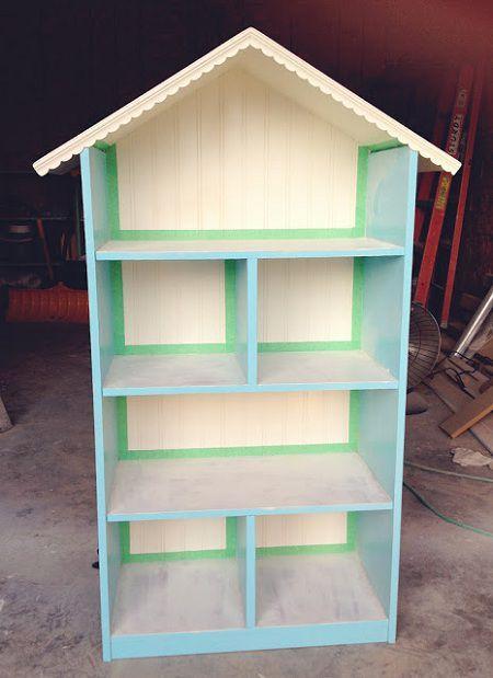 Como hacer una casa de mu ecas mu ecas de madera casas for Casita de madera ikea