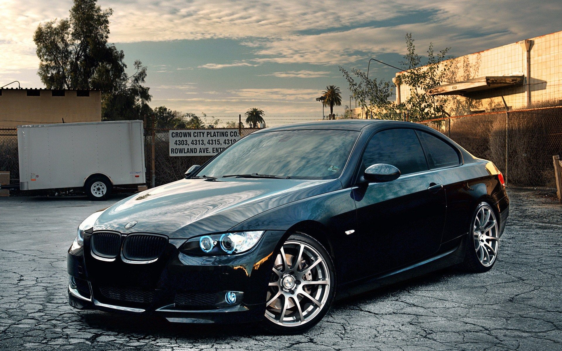 Bmw 335i coupe wallpaper 3
