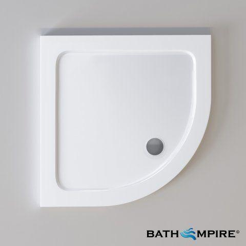 800x800mm Quadrant Ultra Slim Stone Shower Tray Shower Tray