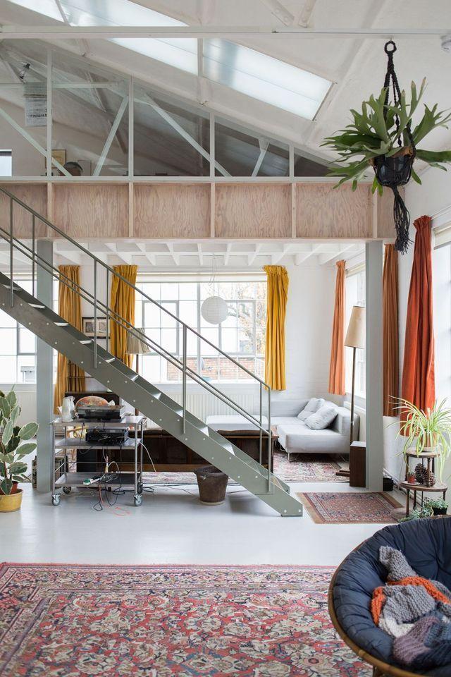 Open space Cheap Home Decor Pinterest Spaces, Mezzanine loft