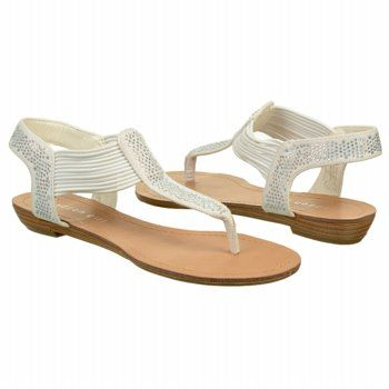 9a89b4d84a104 Madden Girl Templee Embellished Sandal White