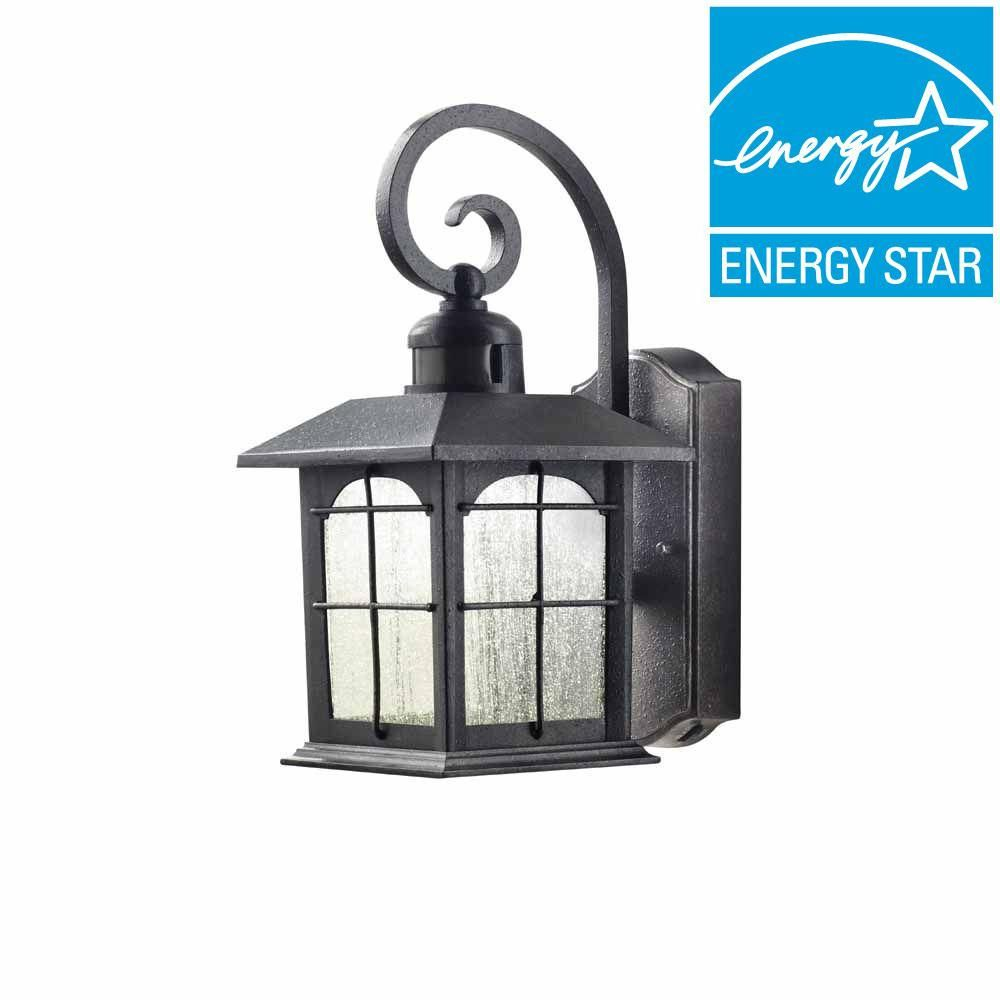 75 Home Decorators Collection Aged Iron Motion Sensing Outdoor Led