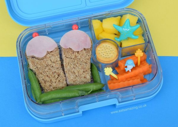 Beach Themed Summer Bento Lunch For Kids From Eats Amazing UK