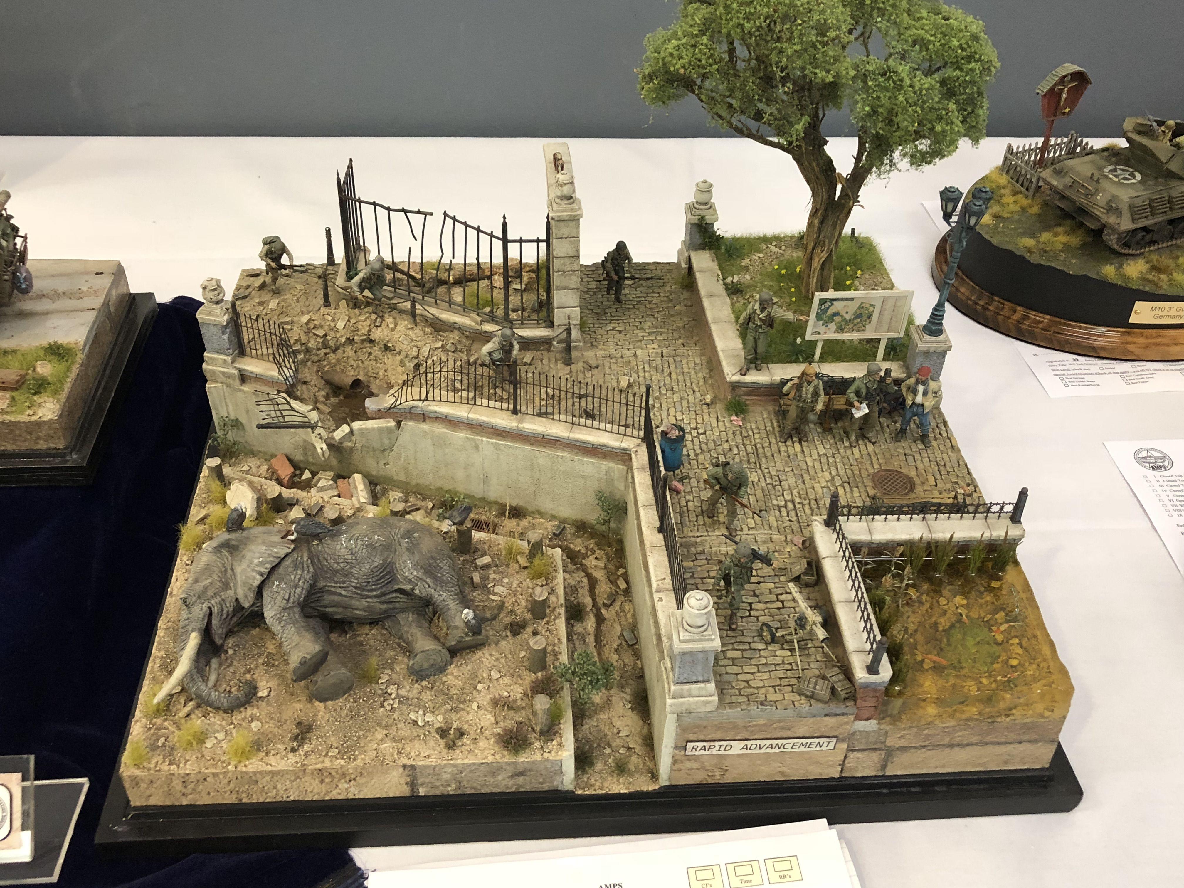 1 35 Diorama Rapid Advancement Diorama Military Diorama Scenery