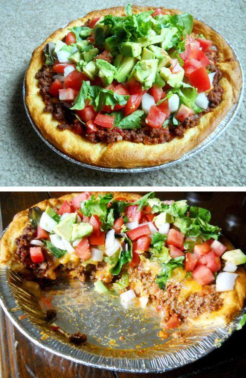 I need to make this... taco pie!