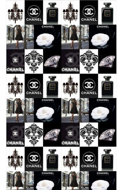 Black Chanel Tribute Art Print by Dinorah Hatta | Society6