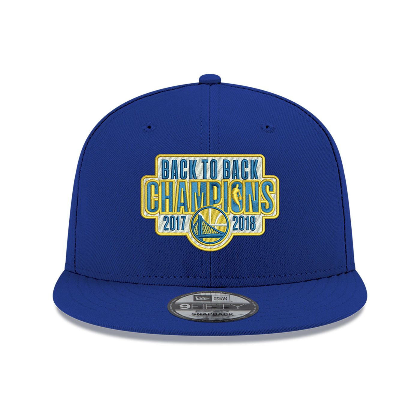 8cdf2448931ed Golden State Warriors New Era Back To Back NBA Champions 9FIFTY ...