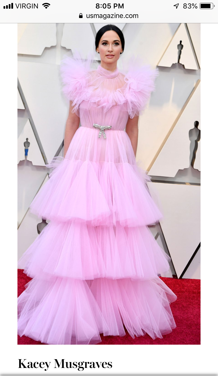 Oscars 2019 4/12 | Kacey musgraves, Evan ross, Olivia grant